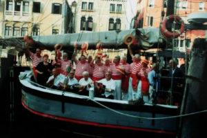 """A bordo del  """"Nuovo Trionfo"""""""
